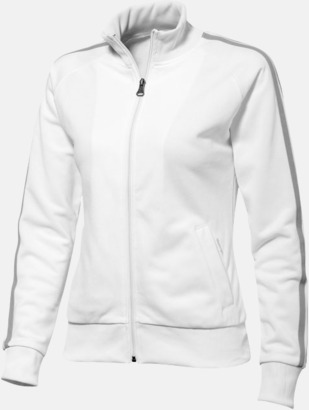 Vit (dam) Sweattröjor från Slazenger med reklamtryck