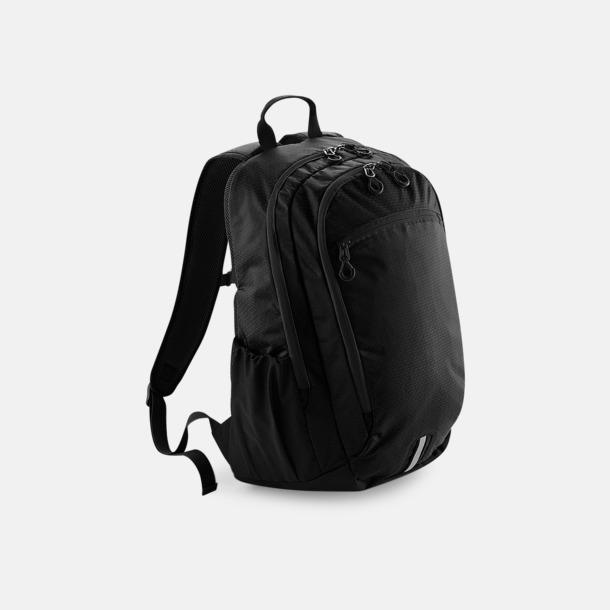 Jet Black Friluft- & laptopryggsäckar med reklamtryck