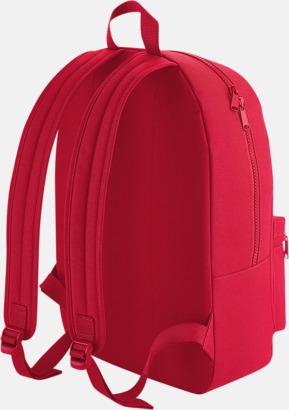 Enfärgade ryggsäckar med reklamtryck
