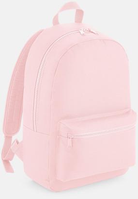 Powder Pink Enfärgade ryggsäckar med reklamtryck