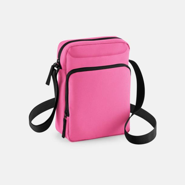 True Pink Små axelväskor med reklamtryck