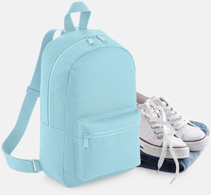 Små, snygga ryggsäckar med reklamtryck