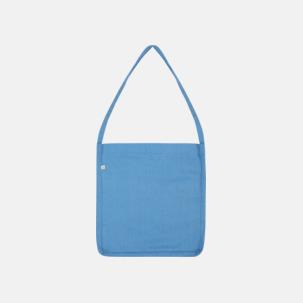 Recycled sling tygkassar i woven twill med reklamtryck