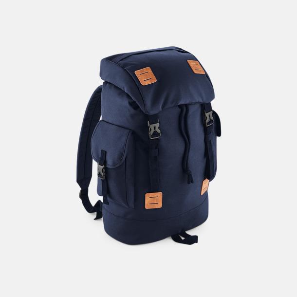Navy dusk/Tan Campingryggsäckar med reklamtryck