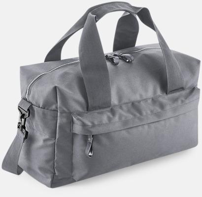 Graphite Grey (40 liter) Resväskor i 2 storlekar med reklamtryck