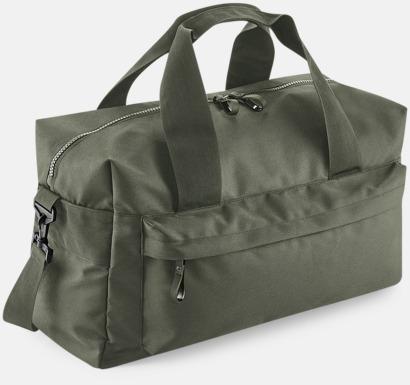 Olivgrön (60 liter) Resväskor i 2 storlekar med reklamtryck