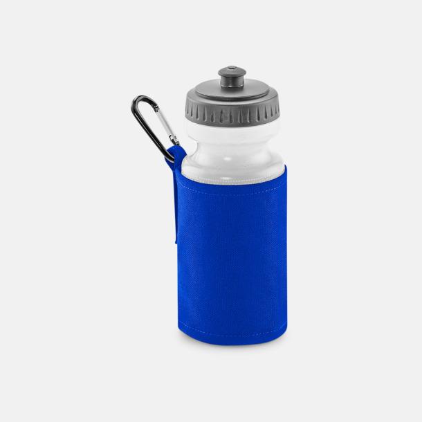 Bright Royal Vattenflaska med hållare - med reklamtryck