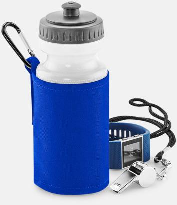 Vattenflaska med hållare - med reklamtryck