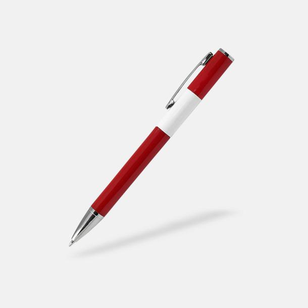 Röd Snygga pennor med reklamtryck