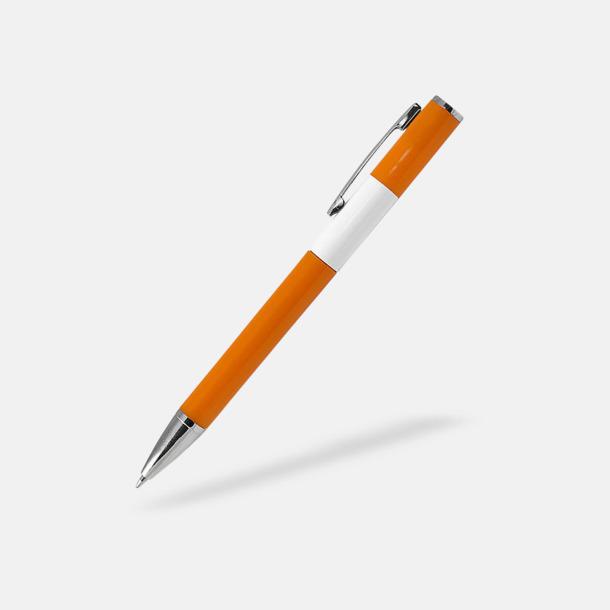 Orange Snygga pennor med reklamtryck