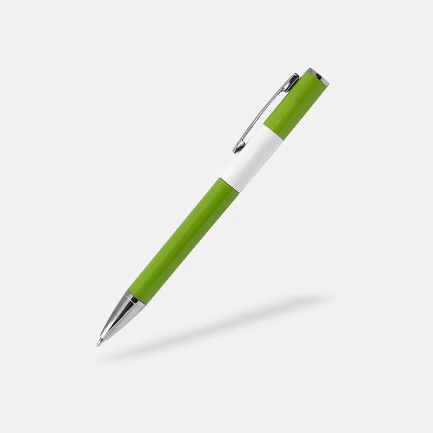 Ljusgrön Snygga pennor med reklamtryck