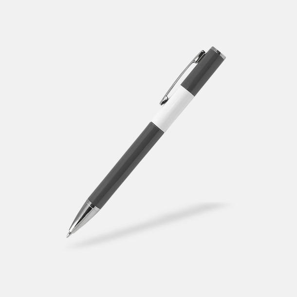 Grå Snygga pennor med reklamtryck
