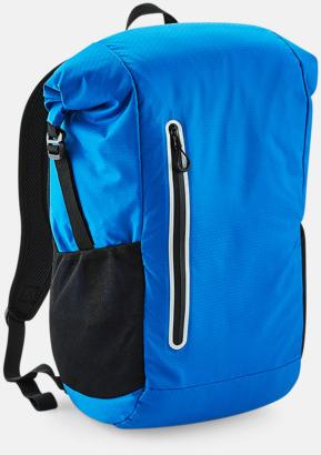 Shock Blue Sportryggsäckar med reklamtryck