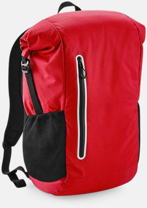 Flame Red Sportryggsäckar med reklamtryck