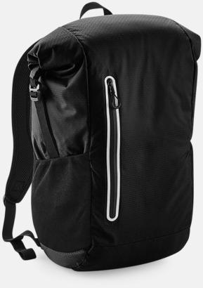 Jet Black Sportryggsäckar med reklamtryck