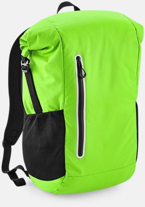 Acid Green Sportryggsäckar med reklamtryck