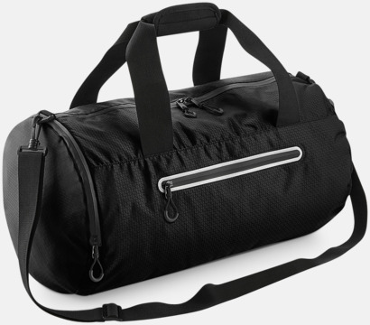 Jet Black Sportbagar med reflex - med reklamtryck