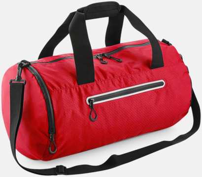Flame Red Sportbagar med reflex - med reklamtryck