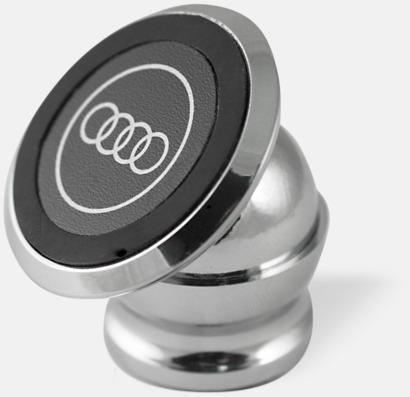 Silver Magnetisk mobilhållare med reklamtryck