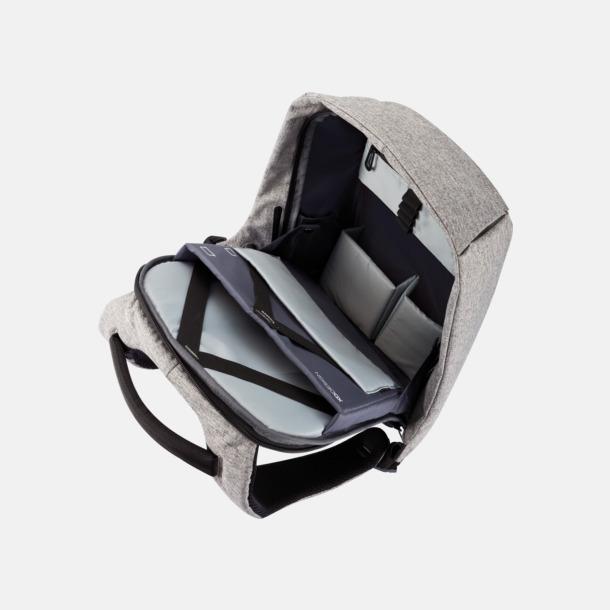 Ficktjuvsäkra ryggsäckar med reklamtryck