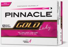 Feminina golfbollar med reklamtryck
