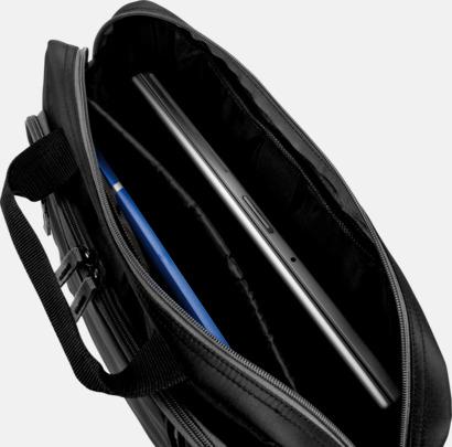 Mörka laptopväskor till bra priser med reklamtryck