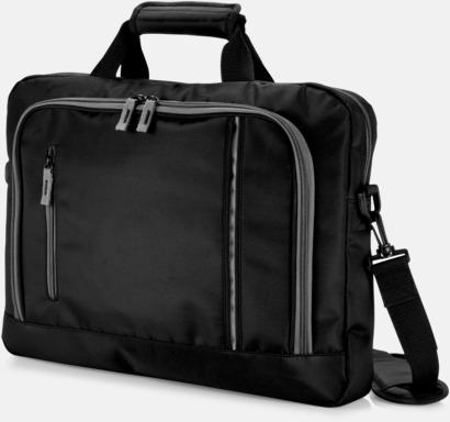 Svart Mörka laptopväskor till bra priser med reklamtryck