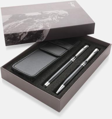 Presentförpackning Exklusivt metall-pennset från Swiss Peak med reklamtryck