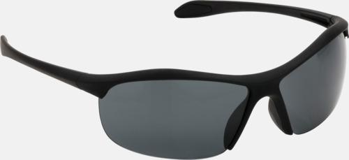 Svart Swiss Peak-solglasögon till lite lägre priser med reklamtryck