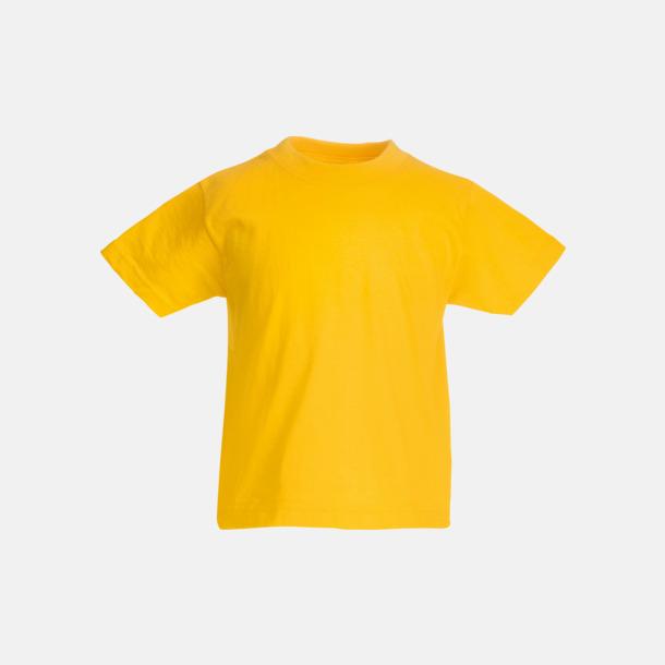 Sunflower T-shirt barn - Valueweigth barn t-shirt