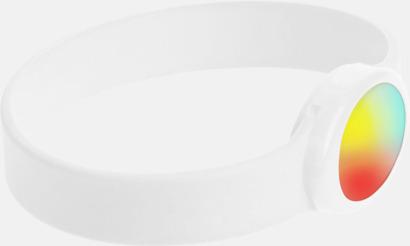 Festivalarmband med skiftande LED-ljus - med reklamtryck