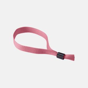 Festivalarmband i polyester med reklamtryck