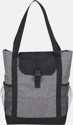 """Grå / Svart 11"""" väska för surfplatta - med reklamtryck"""