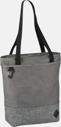 Grå Båtformade väskor med reklamtryck