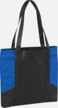 Väskor i PP-material med reklamtryck