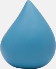 Droppformade stressbollar med reklamtryck