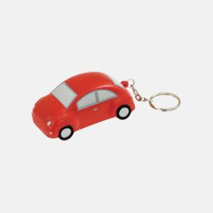 Bilformade stressbollar med nyckelring - med reklamtryck