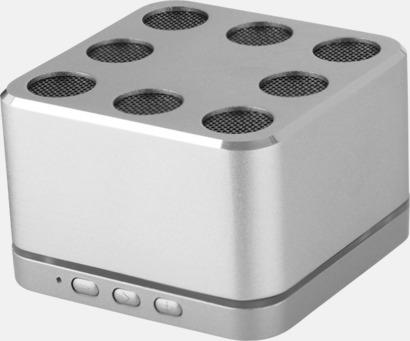 Silver Riktigt snygga högtalare med reklamtryck