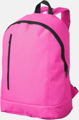 Neonrosa Läckra, billiga ryggsäckar med reklamtryck
