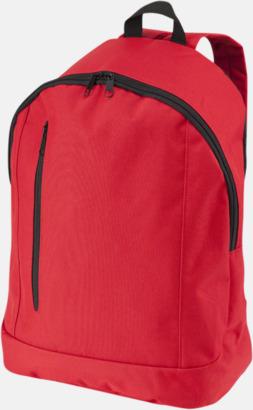 Röd Läckra, billiga ryggsäckar med reklamtryck