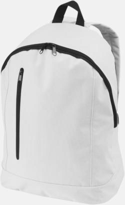 Vit Läckra, billiga ryggsäckar med reklamtryck