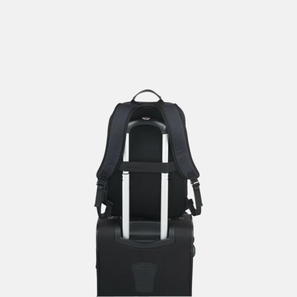 Retro laptopryggsäckar med reklamtryck