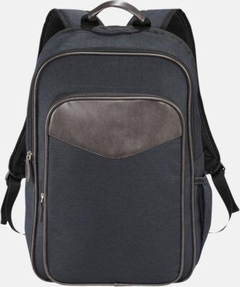Graphite Retro laptopryggsäckar med reklamtryck