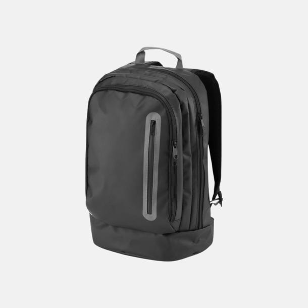 """Svart / Grå 15,4"""" svargrå ryggsäckar med reklamtryck"""
