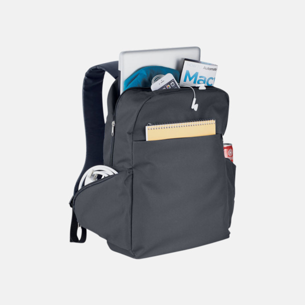 """15,6"""" laptopryggsäckar med reklamtryck"""
