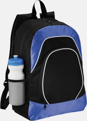 Svart/Royal Ryggsäckar för surfplattor - med reklamtryck