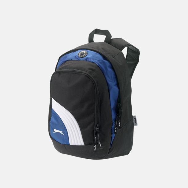Svart/Blå/Vit Sportiga ryggsäckar från Slazenger med reklamtryck