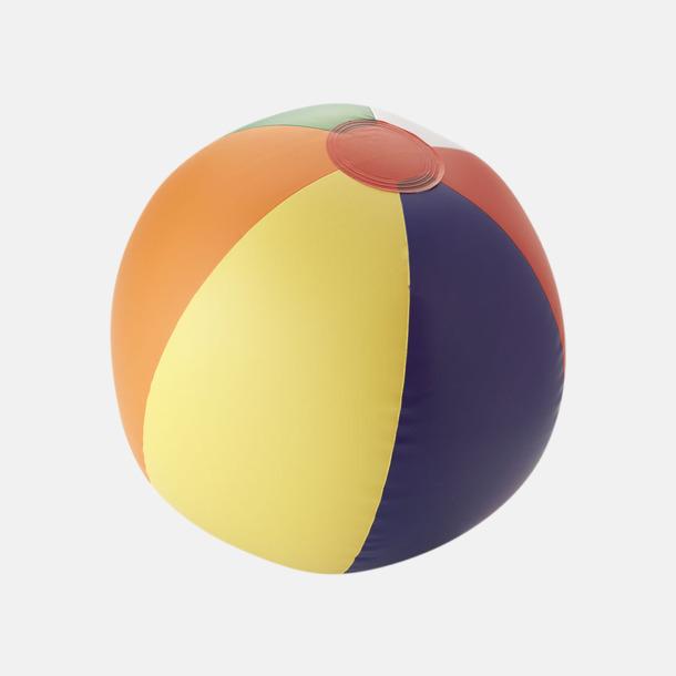 Rainbow Uppblåsbara, randiga badbollar med eget reklamtryck
