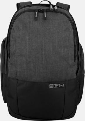 """Grå 15"""" laptopryggsäckar med reklamtryck"""