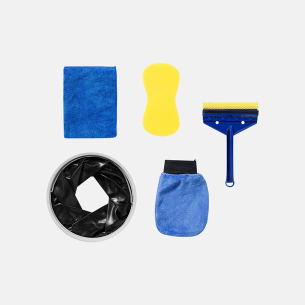 Innehåll Biltvätt-kit i 6 delar med reklamtryck